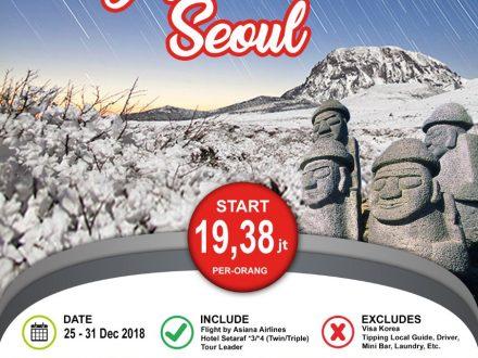 Korea Jeju Island Liburan Natal